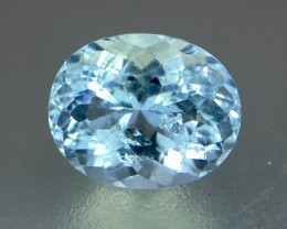 1.95 Crt Aquamarine Faceted Gemstone
