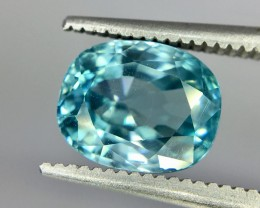 3.50 Crt Zircon Faceted Gemstone