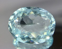 2.45 Crt Aquamarine Faceted Gemstone