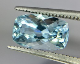2.65 Crt Aquamarine Faceted Gemstone