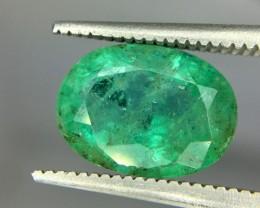 2.85 Crt Emerald Faceted Gemstone