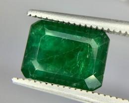 2.75 Crt Emerald Faceted Gemstone