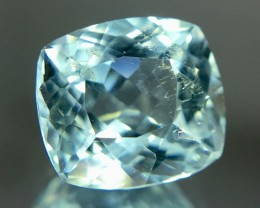 2.55 Crt Aquamarine Faceted Gemstone