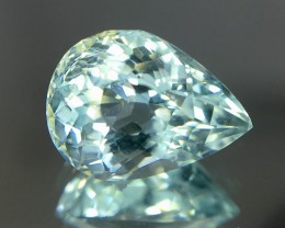2.15 Crt Aquamarine Faceted Gemstone