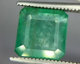 3.65 Crt Emerald Faceted Gemstone