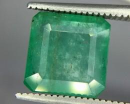 3.65 Crt Emerald Faceted Gemstone