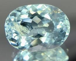2.50 Crt Aquamarine Faceted Gemstone