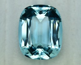 25.71 Cts Elegant Perfect Cut Blue Aquamaine