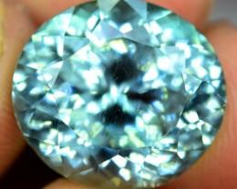 12.90 cts  Beautifull  Deep Lush Green Spoduemene Gemstone From Afghanistan