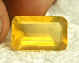 9.48 Carat Vibrant Yellow Mexican Fire Opal - Superb