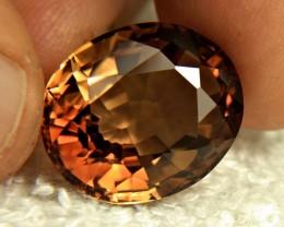 28.49 Carat Himalayan Golden Brown VVS Topaz - Gorgeous