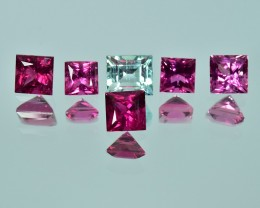 4.59 Cts Fantastic Attractive Color Natural Fancy Tourmaline