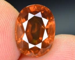 3.85 Ct Ravishing Color Combodian Zircon