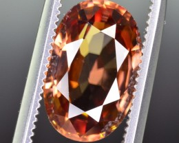3.65 Ct Brilliant Color and Quality Zircon