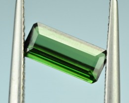 1.076 Cts Fabulous Green Tourmaline