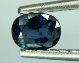 0.81 Crt Natural Sapphire Gil Certified Faceted Gemstone