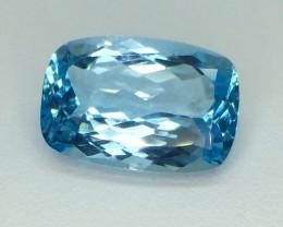 10.95 Crt Natural Topaz Faceted Gemstone (976)