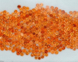 136.44 Cts Fabulous 3.5-4.5 Round Spessartite Garnet Parcel