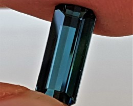 3.25cts, Certified Indicolite Blue Tourmaline,