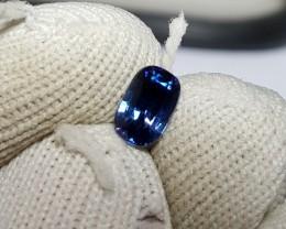 CERTIFIED 1.15 CTS NATURAL BEAUTIFUL VVS -VS ROYAL BLUE SAPPHIRE SRI LANKA