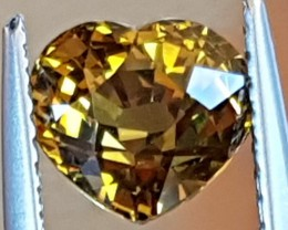 2.32cts, Mali Garnet, *AMAZING* Fire, Luster and Color Untreated, Clean
