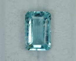 3.86 Cts Fabulous Natural Blue Aquamarine