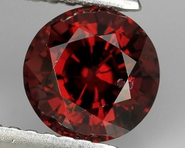 1.60 CTS FANTABULOUS NATURAL UNHEATED RHODOLITE ROUND