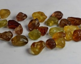 80 CT Natural - Unheated Golden Yellow Chrysoberyl Rough For Facet