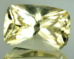6.87 Natural Mint Yellow Scapolite Oval Cut Tanzanian Gem