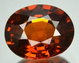 2.70 Cts Natural Mandrain Orange Spessartite Garnet Cushion Cut Namibia Gem
