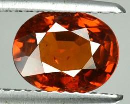 2.09 Cts Natural Mandrain Orange Spessartite Garnet Oval Cut Namibia Gem