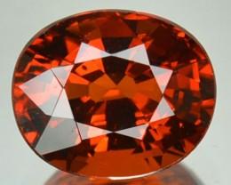 2.19 Cts Natural Mandrain Orange Spessartite Garnet Cushion Cut Namibia Gem