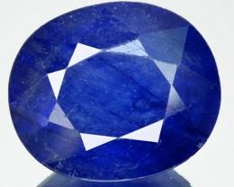 5.46 Cts Natural Blue Sapphire Oval Cut Thailand Gem