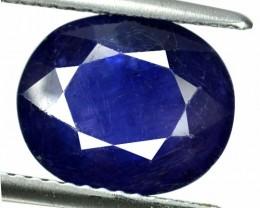 5.05 Cts Natural Blue Sapphire Oval Cut Thailand Gem