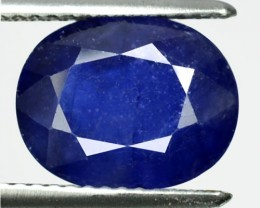 5.31 Cts Natural Blue Sapphire Oval Cut Thailand Gem