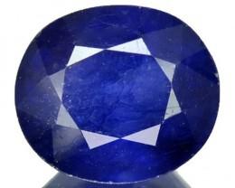 5.08 Cts Natural Blue Sapphire Oval Cut Thailand Gem
