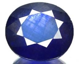 5.51 Cts Natural Blue Sapphire Oval Cut Thailand Gem