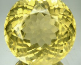 18.85 Cts Natural Mint Yellow Labradorite Nice Round African Gem
