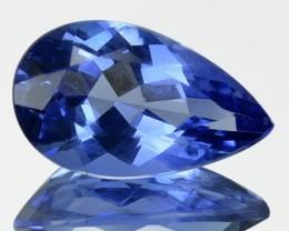 2.26 Cts Natural Blue Beryl (Aquamarine) Pear Cut Brazil Gem