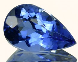 2.33 Cts Natural Blue Beryl Pear Cut Brazil Gem