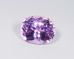 6.07 ct Top Quality Oval Cut Natural Pink or Purple kunzite