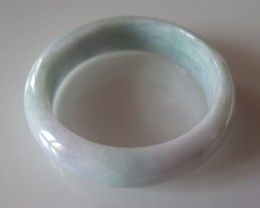 VERY NICE  NATURAL  JADE JADEITE BANGLE 58 CMS and 77  grams