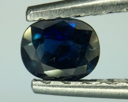 0.60 Crt Natural Sapphire Faceted Gemstone (977)