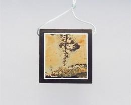 88.5ct Hot Sale Obsidian And Chohua Jasper Pendant(18041416)