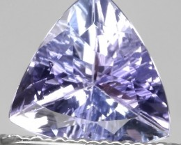 Sparkling Tanzanite Trilliant Cut Gem - beautiful stone No reserve