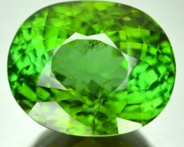 ~SPARKLING~ 12.41 Cts Natural Neon Green Tourmaline Oval Cut Mozambique