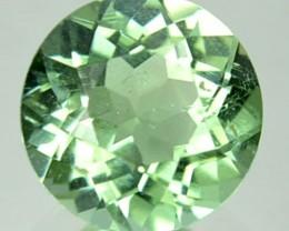 ~NEW MINE~ 0.98 Cts Natural Mint Green Tourmaline Round Cut Congo