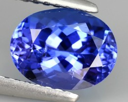 2.00 CTS-EXCELLENT NATURAL TANZANITE  TOP LUSTER