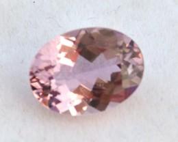 2.62 Carat Fine Oval Cut Pink Tourmaline