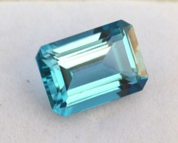 9.01 Carat Fine Octagon Cut Swiss Blue Topaz